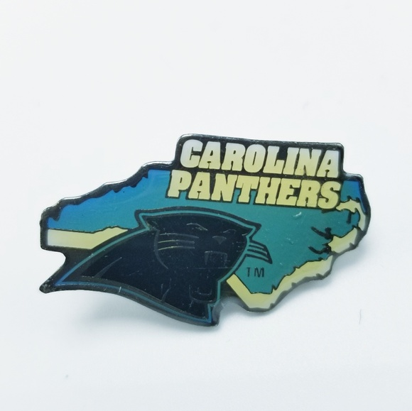 6444ba44c34 Vintage Carolina Panthers Pin NFL Souvenir Pin